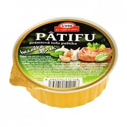Nátierka Patifu bazalka cesnak 100g Veto