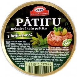 Nátierka Patifu s bylinkami 100 g Veto