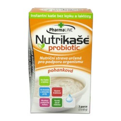 Nutrikaša probiotic pohánková 3x60 g Mogador